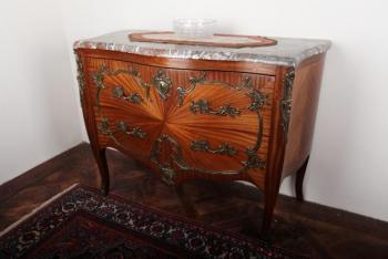 Commode - solid oak, mahogany veneer - 1930