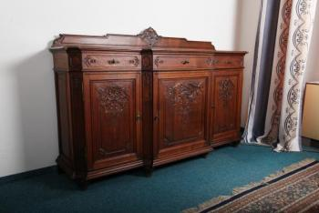Commode - solid oak - 1890